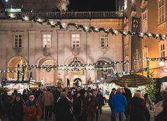 #Christkindlmarkt in #Salzburg