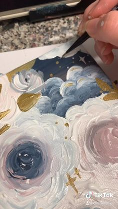 floral painting floral painting ,Art Related posts:- Disney - DisneyUnblock websites at school - DisneyPaper Roll Flower Art For Kids - Easy. Cute Canvas Paintings, Canvas Painting Tutorials, Diy Canvas Art, Acrylic Art, Acrylic Painting Flowers, Art Drawings Sketches, Painting & Drawing, Body Painting, Art Tutorials