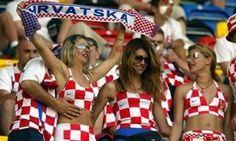 Chorwackie kibicki, to chyba na Euro2012 #chorwacja