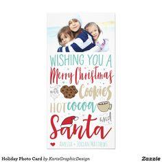 EDITOR'S PICK ON ZAZZLE | Holiday Photo Card