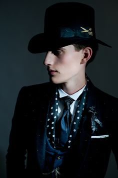 Joshua Kane Bespoke - AW/14 Pre Collection & 'The Gostick' Hat campaign. — Oleg Tolstoy
