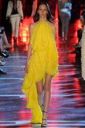 Alexandre Vauthier - Yellow Sunshine