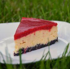 Epres sajttorta Oreo-val – New York-i módra – Sweet & Crazy Macarons, Cheesecake, New York, Sweet, Recipes, Food, Cupcake, Cakes, New York City