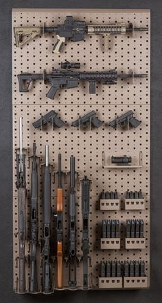 Gallow Technologies - Package 1033 (orig) #PKG-1033-orig Gun Storage, Storage Systems, Airsoft Storage, Weapon Storage, Storage Rack, Hidden Gun, Les Matériels, Tactical Equipment, Tactical Gear