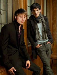 manip used for The Student Prince featuring Bradley James and Colin Morgan as Arthur and Merlin
