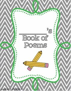 Poetry Book Cover - freebie