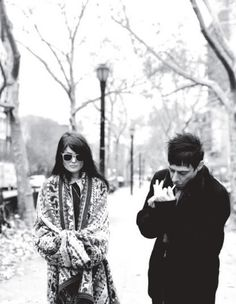 The Kills. The coolest duo to ever walk the earth.