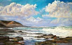 "Lynda Robinson (Pastel Artist) ""Apollo Bay"""