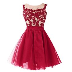 Short Prom Dresses,2016 Cheap Prom Dresses, Burgundy Evening Dress