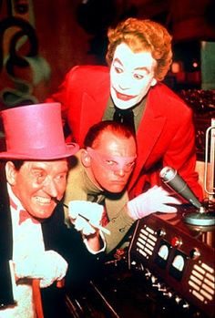 joker batman tv series   The Penguin, The Ridler, The Joker