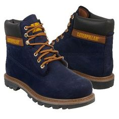 Caterpillar Men's Colorado Lace Up Work Boot Boots (Evening Blue)