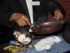 https://flic.kr/p/DgMLRU | Waiter prepares Bananas Foster Dessert, Hugo's Cellar, 2010 | Photo by Patty Mooney of San Diego video production company Crystal Pyramid Productions - sandiegovideoproduction.com/video-producers/patty-mooney/