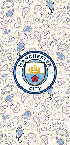 Paisley Wallpaper, Hype Wallpaper, Photo Wallpaper, Manchester City Logo, Manchester City Wallpaper, World In Motion, Bargello Quilts, Real Madrid Football, Song Lyrics Wallpaper