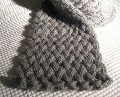 The Cake Plate: Matilda - A winter scarf.  Gorgeous pattern  Bulky 12 ply.  547-623 yards