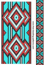 SOUTHWEST NATIVE AMERICAN PLASTIC CANVAS  | Native american chart