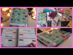 ▶ ERIN CONDREN Life Planner | How I Organize & Decorate It - YouTube #eclifeplanner14