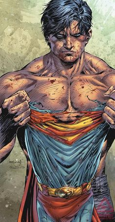 A cool Superman by Ardian