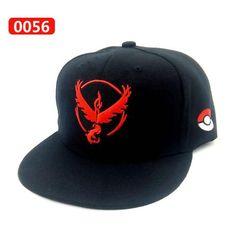 Pokemon Go Adjustable Black Baseball Hat