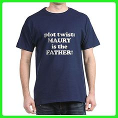 CafePress - Plot Twist: Maury Is The FATHER! - 100% Cotton T-Shirt - Relatives and family shirts (*Amazon Partner-Link)