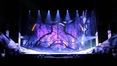 Romeo and Julia stage design. Photo by Günay Kulbay, Visual act AB.