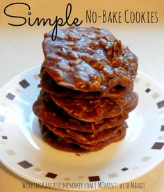 Simple No-Bake Cookies