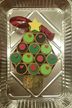 Arbre de Nadal amb taps de suro i goma eva
