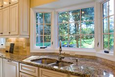 10 Styling Options for Your Kitchen Windows