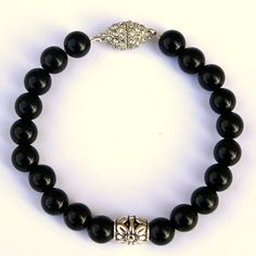 Black Onyx Spiritual Fertility Bracelet