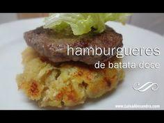 Luisa Alexandra: Hambúrgueres de Batata Doce com Frango, Cenoura e Queijo • Kit para Hambúrgueres Tupperware • Receita em VÍDEO