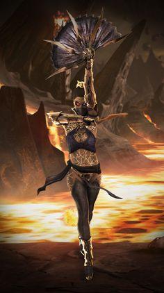 Mortal Kombat X: Deadly Revenant Kitana by SrATiToOBada** work using XNALara and Photoshop.Kitana Fan Pagetwitterfacebookyoutube