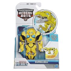 Playskool Heroes Transformers Rescue Bots Roar and Rescue Bumblebee Figure.  Bought with Tooth Fairy money.