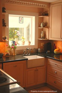 Ordinaire Www.aadesignbuild.com Custom Kitchen Design And Remodeling Ideas, Garden  Window, Washington