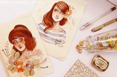 juliana rabelo   illustration: Paleta de cores reduzida