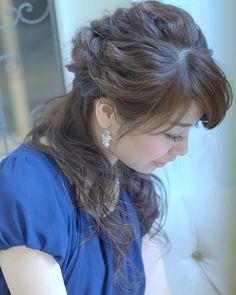 today's hair style☆  ハーフアップスタイル☆ 詳しいスタイルはcourarirで検索してくださいね♪  #ヘアセット #セット #アップスタイル #ハーフアップ #波ウェーブ #編み込み #ツイスト #ねじねじ #ふわふわ #結婚式 #ルーズ  #フェミニン #ブライダル #パーティー  #t2style #love  #courarir #courarirhair #courarirkyotoekimae #courarirhairkyotoekimae