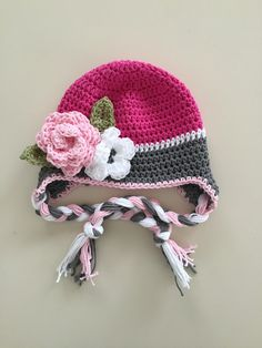 Hey, I found this really awesome Etsy listing at https://www.etsy.com/listing/268462303/baby-winter-hat-crochet-earflap-hat