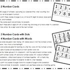 {FREEBIE!!} Number Cards! These cards can be printed, laminated, and attached with a metal ring to add to your calendar when counting how many days your kiddos have been in school! Print three copies and you will have a set of digits 0-9 for place value spots ones, tens, and hundreds!