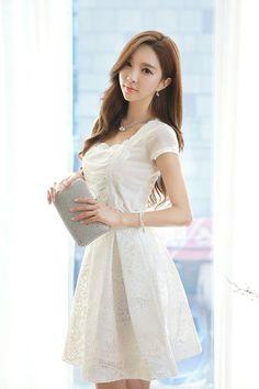 Pretty Asian, Beautiful Asian Women, Beautiful Gowns, Asian Fashion, Girl Fashion, Fashion Outfits, Asian Woman, Asian Girl, Sunmer Dresses
