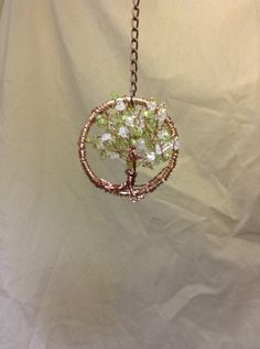 Spring 3-D Tree of Life sun catcher - pendent