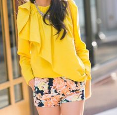 Bright outfit