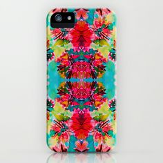 just ordered this pretty case! (: check out her prints. so good! ---Tropical Floral iPhone & iPod Case by Amy Sia - $35.00