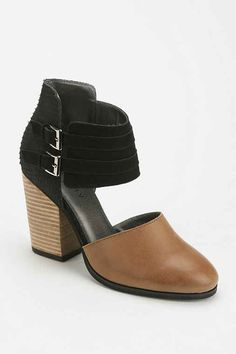 $139 Grey City Billie Ankle-Wrap Heel - Urban Outfitters