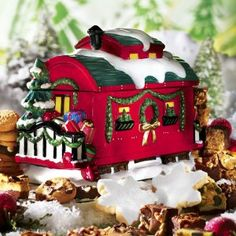 christmas cookie jars - Google Search