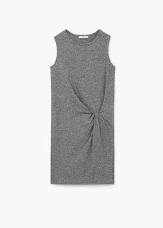 Ruched detail dress | MANGO