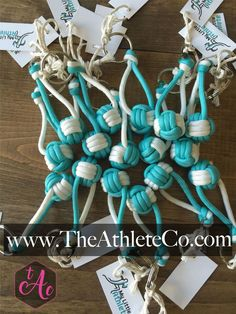 Teal Volleyball Paracord Keychain – The Athlete Company