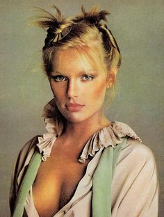 Patti Hansen by Francesco Scavullo