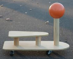 Spincar by PlyPlay, via Kickcan & Conkers