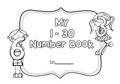 1 - 30 Number Practice work for Kindergarten, first and second grade.  Practice tracing, writing, tallying, place value, ten frames and number lines.