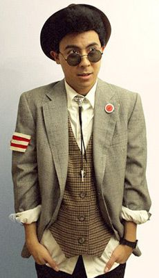 Duckie Dale costume (photo credit: little fille) if a boy did this I'd love him!!