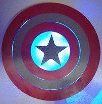 Captain America! Custom LED Lighted Pub https://www.etsy.com/listing/484680588/captain-america-custom-led-lighted?ref=shop_home_active_72 #captainamerica #superhero #custommade