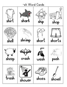 Digraphs SH and TH Word Sort Beginning / Ending Sound Picture Cards for sorting Recording Sheets. Phonics Reading, Teaching Phonics, Teaching Writing, Articulation Activities, Phonics Games, Sh Words, First Grade Lessons, Phonics Words, Third Grade Reading